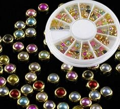 1 Set Bright Popular 3D Acrylic Rhinestones Nail Art Wheels Cellphone Tools Kit Manicure Primer Pattern Style 11 * Learn more by visiting the image link.