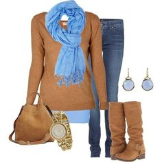 BRAND NEW SCARFOFFERS WELCOME This beautiful light blue scarf is cozy and perfect for the fall season! OFFERS WELCOME!! Accessories Scarves & Wraps