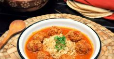 Learn to make Albóndigas al Chipotle and Tortas Gema, both with a spicy tomato-chipotle sauce.