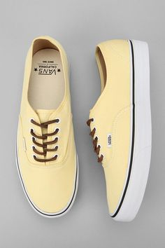 Vans Brushed Twill - Yellow
