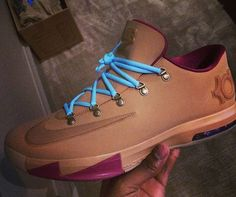 Nike KD VI - Wheat........ Oh Lordy KD done did it again!!  100% COP