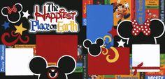 The Happiest Place On Earth Page Kit