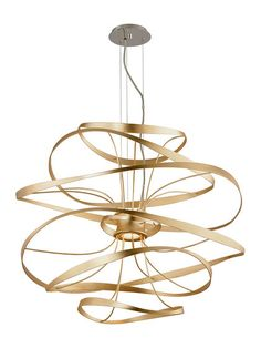 Calligraphy 2-Light LED Pendant by Verlaine at Gilt