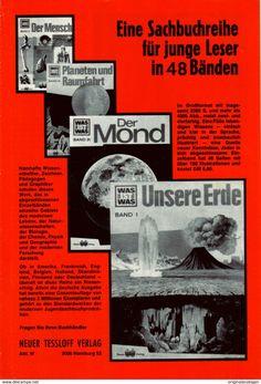 Werbung - Original-Werbung/ Anzeige 1971 - WAS IST WAS / TESSLOFF VERLAG - ca. 150 x 230 mm