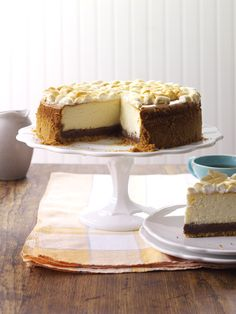 S'mores Cheesecake Recipe from Taste of Home