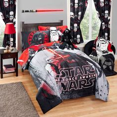 $27 comforter Star Wars Episode VII Rule the Galaxy Twin/Full Comforter - Walmart.com