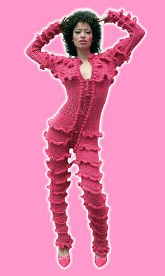 3445743b455c Bodysuits, Evolution, Knits, My Arts, Weird, Knit Crochet, Crochet  Patterns, Outlander, Knitwear