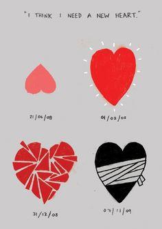 New Heart. Jar of Hearts