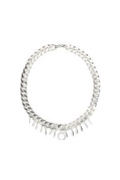 SILVER SS PENDANT NECKLACE  www.sloansable.com Ss, Pendant Necklace, Jewellery, Diamond, Bracelets, Silver, Bangles, Jewelery, Money