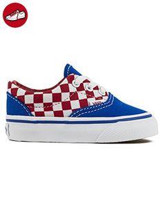 Vans Youth Era - (checkboard) Racing Red/imperial Blue - 7.5C (*Partner-Link)