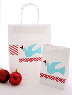 While I had all my red and aqua papers out, I have made up a batch of gift bags. I love the plain white gift bags which are readily available from craft stores. By adding a Christmas die cut and some scrap booking paper, we now have some decorated bags of varying sizes forChristmastreats. I...Read More »