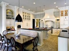 Traditional Kitchen and Bradley C. Touchstone in Tallahassee, Florida