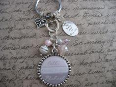 Wedding favor Pink Jewelry Keychain