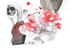 mushrooms by kavka (thinking of fall..)