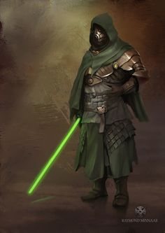 Medieval Jedi If i had to design Star Wars characters this is something that i would do if i had an open canvas, so this is me trying to figure out how long it would take me to do a decent but quick concept. Star Wars Characters Pictures, Star Wars Images, Sci Fi Characters, Star Wars Jedi, Star Wars Rpg, Jedi Cosplay, Jedi Sith, Jedi Armor, Science Fiction