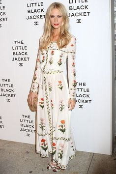 Poppy Delevingne at the Chanel Little Black Jacket exhibition launch - celebrity fashion