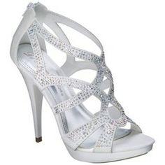 De Blossom Sheila Strappy Heel in White