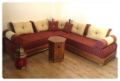 Moroccan Daybed Sectional. Rearrange The Pillows And Make Yourself At Home.
