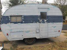 vintage restorable camper early 50s in RVs & Campers | eBay Motors