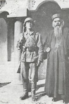 In 1941, with the German occupation of Yugoslavia, Bishop Nikolai Velimirovich, together with Patriarch Gabriel Dozhich, was arrested and sentenced to imprisonment in the infamous Dachau Prison Camp in Germany. He spent two years in Dachau, witnessing and suffering some of the cruelest torture of human beings the world has ever known.