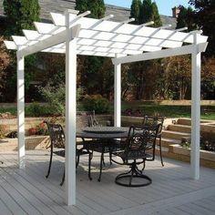 30+ Beautiful Pergola Patio Design Ideas #patiopergolaideas #patiopergola #patioideas » Sassykatchy.com