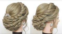 wedding updo with braids hairstyles for prom youtube hairstyles