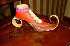 [Papel mache] Sapato | Flickr - Photo Sharing! Stiletto Heels, Shoes, Fashion, Moda, Zapatos, Shoes Outlet, La Mode, Fasion, Footwear