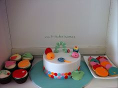 The Hungry Caterpillar Cake, Cupcakes and Cookies by Little Wheelz. You'll find this Cake Appreciation Society Member in our Directory at www.cakeappreciationsociety.com