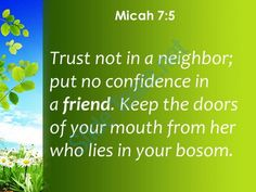 micah 7 5 put no confidence in a friend powerpoint church sermon Slide04  http://www.slideteam.net/