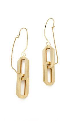 Eddie Borgo Large Supra Link Ear Cuffs