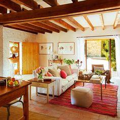 De granero a casa rústica ¡con jardín y piscina!