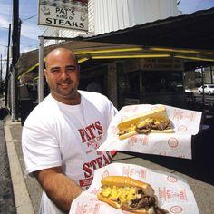 A real Philly Steak Sandwich. It's on my bucket list.