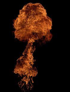 Fire sculpture - Mierswa Kluska
