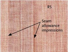 Make Padded Seams to Prevent Seam Allowance Impressions - Threads for Wool Garments