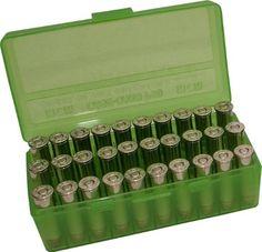 MTM 40/45/10MM Cal 50 Round Flip-Top Ammo Box