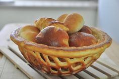 麵包籃。bread basket