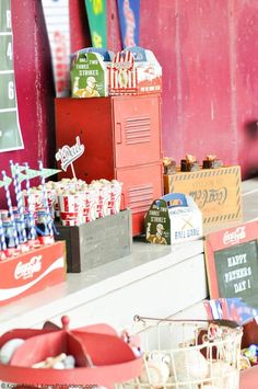 Baseball party for Father's Day by Kara Allen | Kara's Party Ideas for Coca-Cola #shareacoke #shareacokecontest_-52