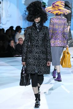 Marc Jacobs Fall 2012 Ready-to-Wear Fashion Show - Kinga Rajzak