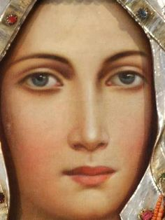 Hail Mary Full of Grace. Blessed Mother Mary, Divine Mother, Blessed Virgin Mary, Religious Images, Religious Art, Verge, Images Of Mary, Queen Of Heaven, Mama Mary