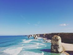 Great Ocean Road  #Australia #roadtrip #melbourne #adelaide #great #ocean #road #greatoceanroad #sky #pacific #waves #12apostles #travel #lovethiscountry by mmissal
