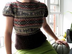 Flyte Fair-Isle Pullover by Megan Rogers