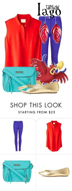 """""""Iago"""" by tallybow ❤ liked on Polyvore featuring M&S, Band of Outsiders, Fiorelli, Charlotte Russe and Aurélie Bidermann"""