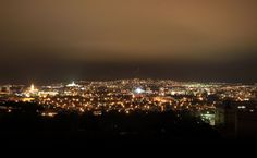 Bardejov, Beautiful night view.