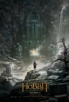 Official Movie Poster For The Desolation of Smaug