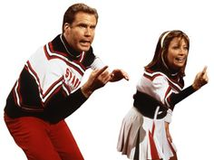 The Spartan Cheerleaders played by Will Ferrell and Cheri Oteri (SNL)