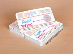LuLaRoe Scratch Off Cards • DIGITAL CARD FILE • Personalized With Your Info