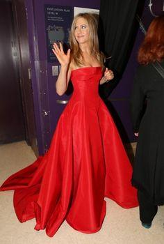 Jennifer Aniston's Oscars dress?  Kinda like cammies just a gauzy layer on skirt