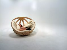 [ To purchase Cradle Chair go to:    http://richardclarkson.com/shop ] .   Cradle Chair is about creating a safe, comfortable and relaxing enviroment in which the user can dissipate the overstimulatio...