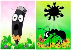 . Color Games, School Fun, Projects To Try, Clip Art, Sorting, Disney Characters, Colors, Activities, Black