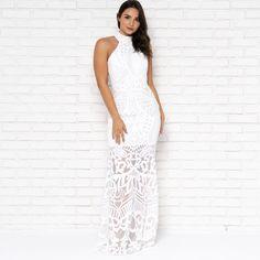 9a20acb848b Dreams Come True Sequin Maxi in White - Dainty Hooligan Boutique Sequin Maxi